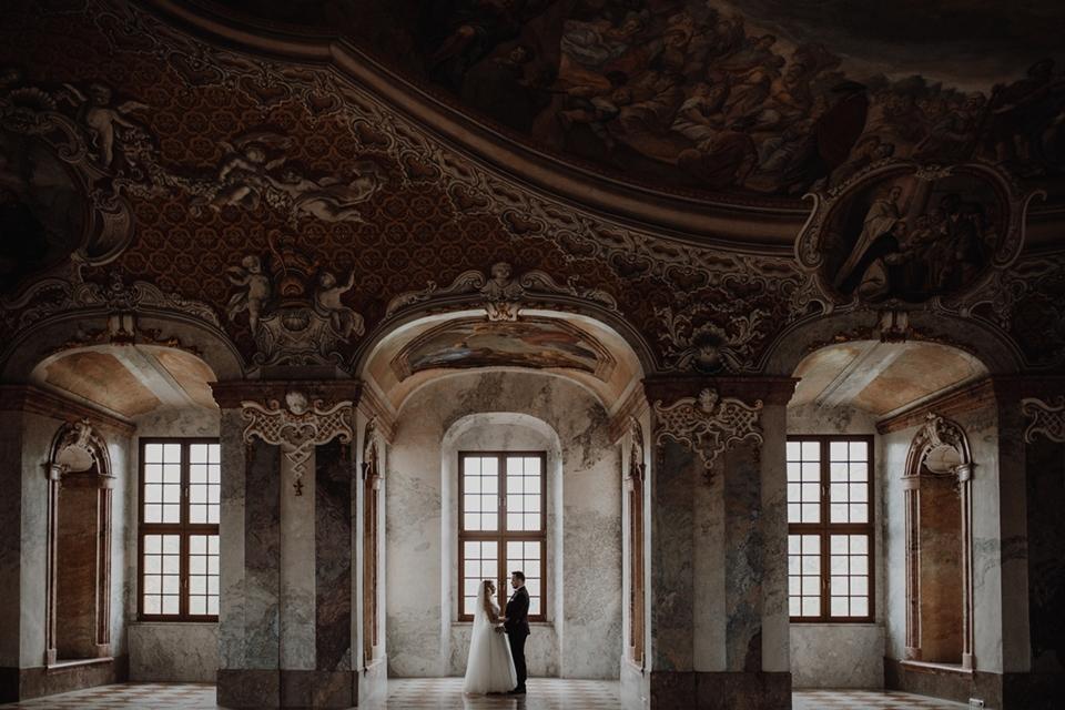 Zdjęcia ślubne Opactwo Cystersów