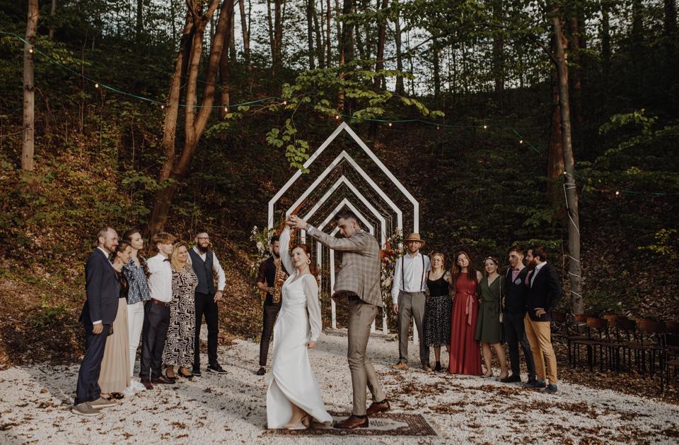 Ślub plenerowy w Starej Kruszarni
